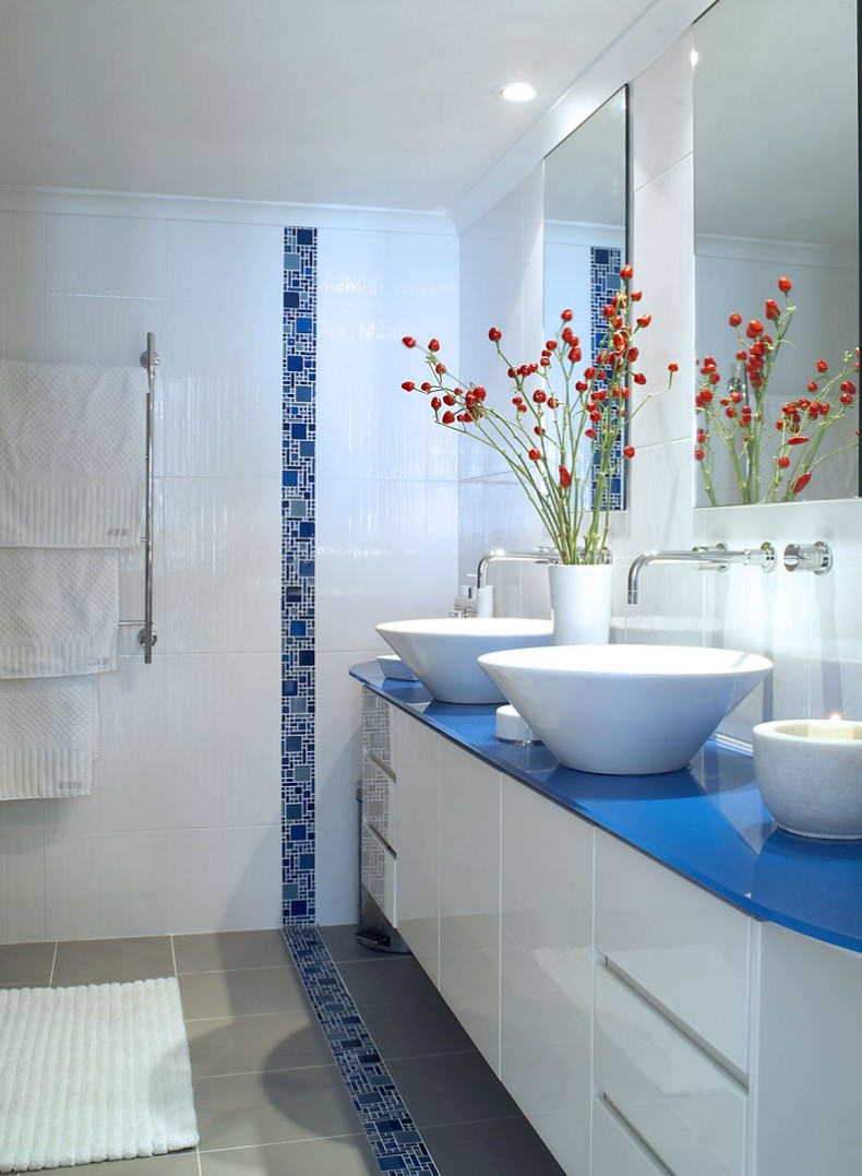 for Powder blue bathroom ideas